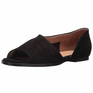 Seychelles Womens Passport Black Sandals